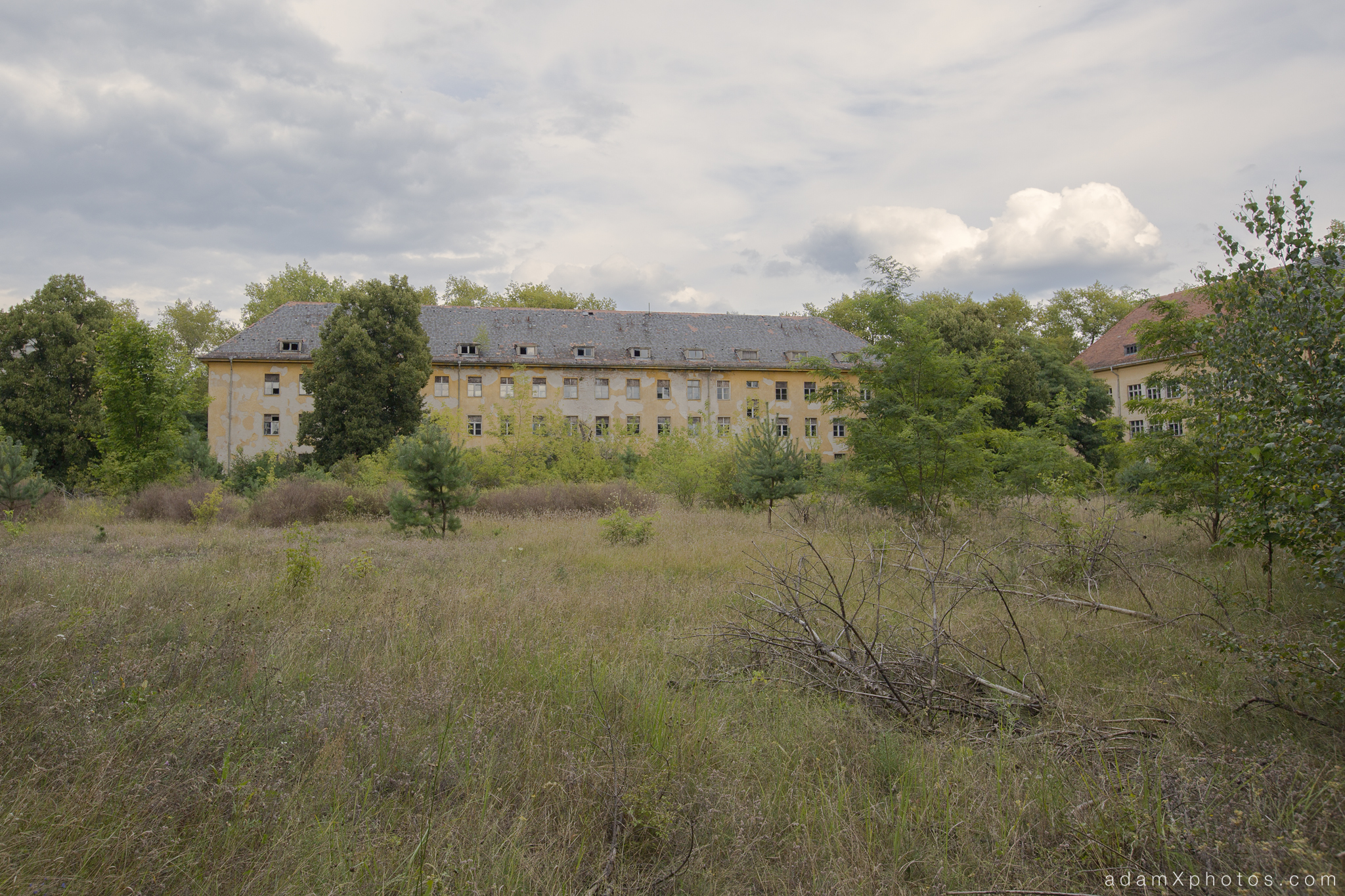 Adam X Urbex Urban Exploration Abandoned Germany Wunsdorf barracks external building