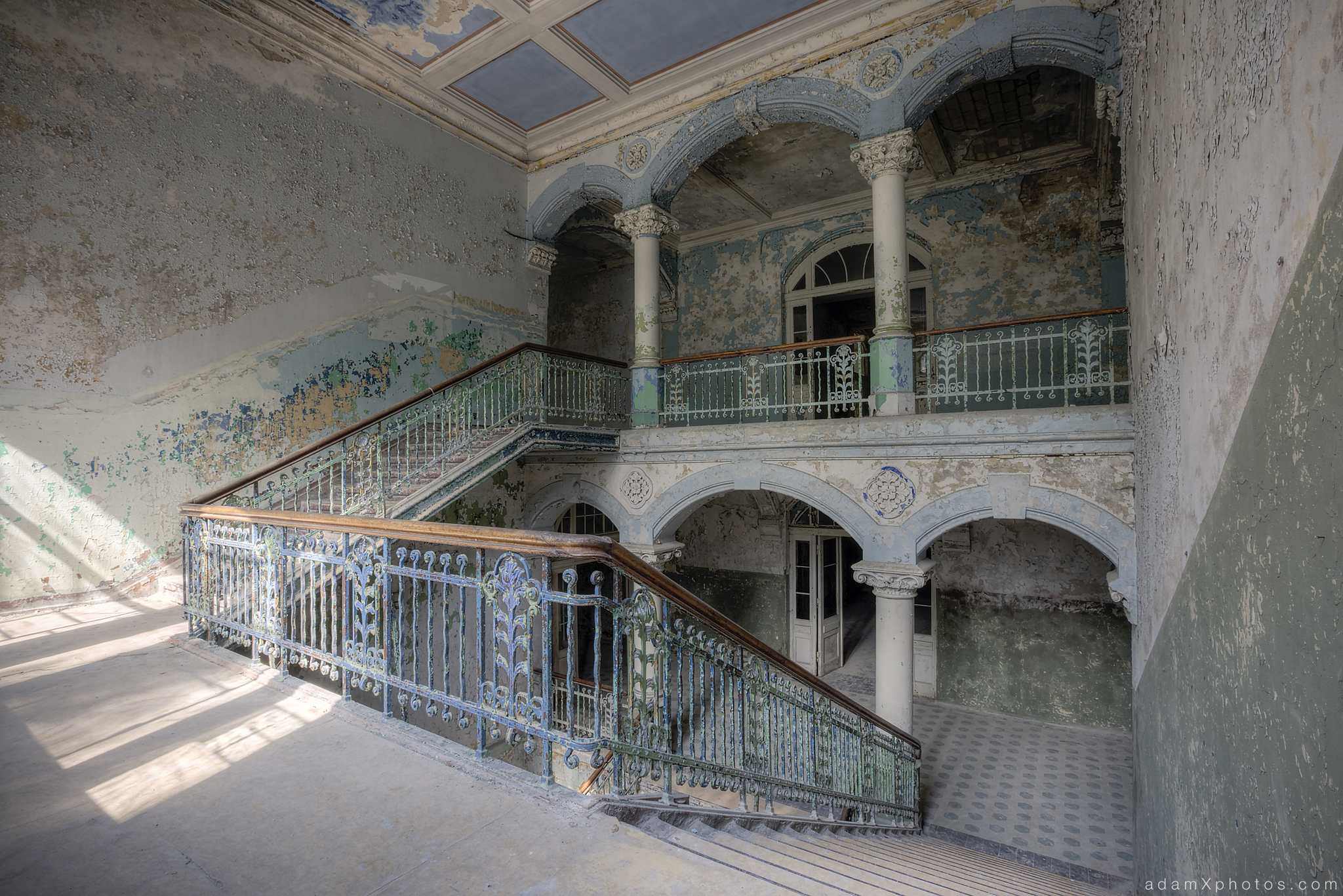Adam X Urbex Beelitz Heilstatten Germany Urban Exploration Mens Men's Sanatorium Hospital Decay Lost Abandoned Hidden Entrance
