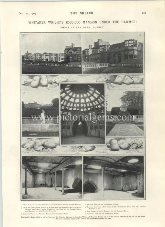 Lea Park sale particulars 11 Oct 1903