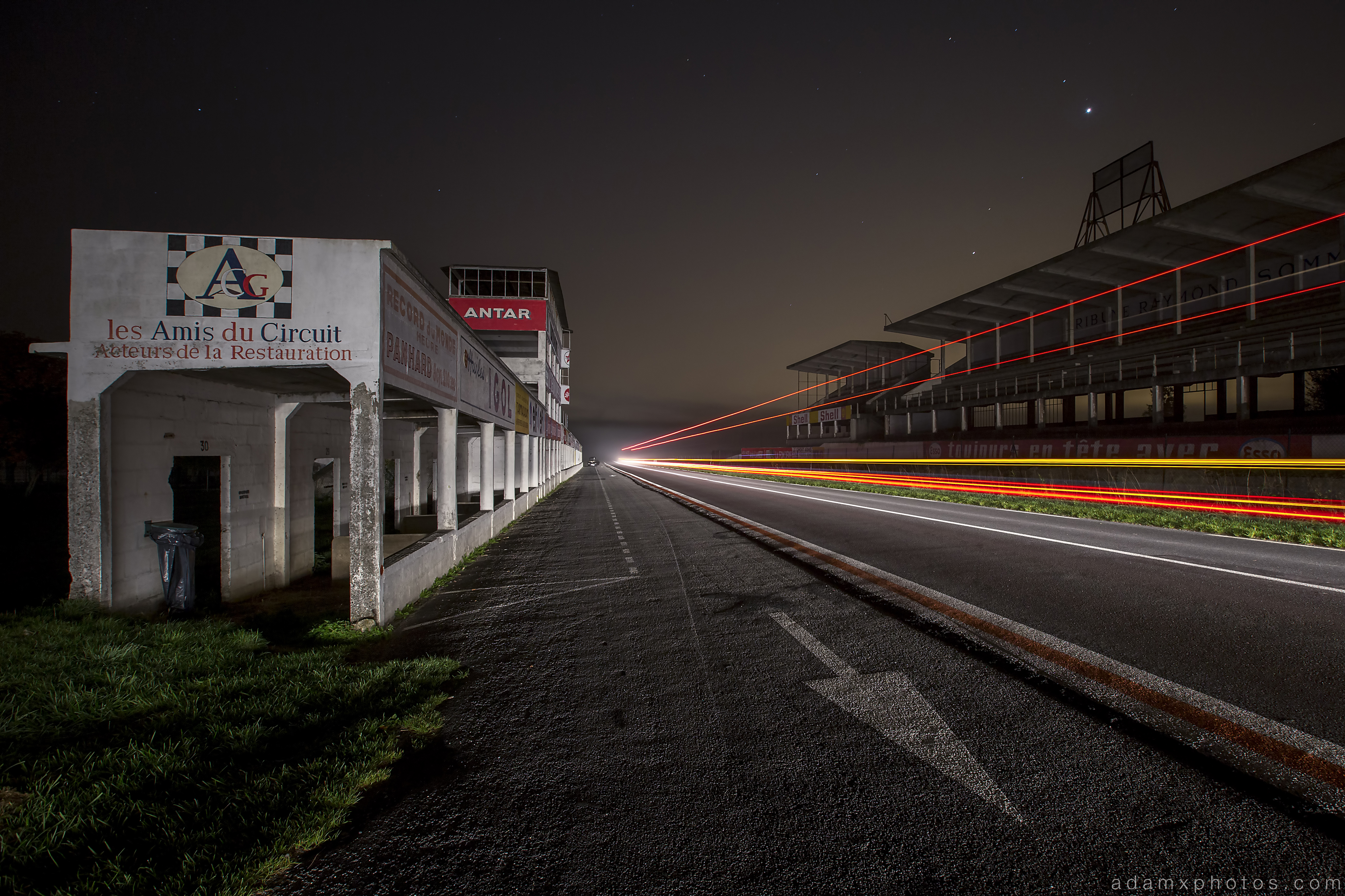 Reims Gueux race track night France Urbex Adam X Urban Exploration 2015 Abandoned decay lost forgotten derelict