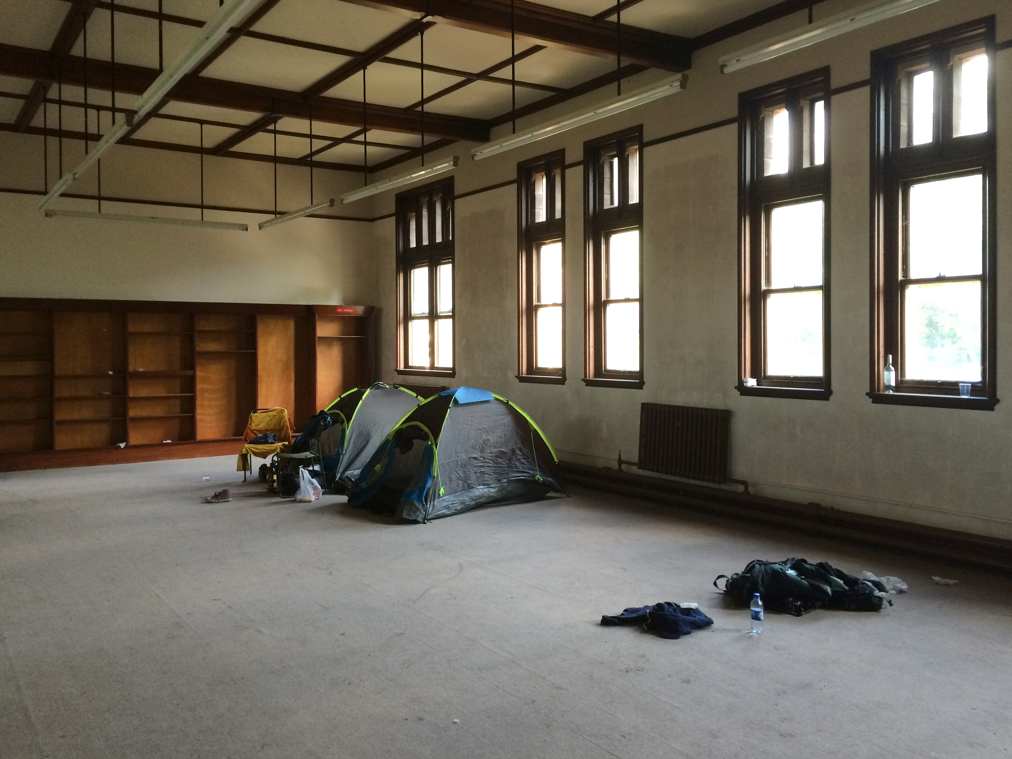 Pro Hobo derp conference Room tents camping St Joseph's Seminary Joe's Upholland Urbex Adam X Urban Exploration 2015 Abandoned decay lost forgotten derelict