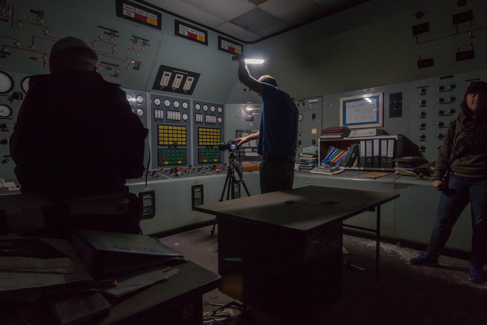 bunker control room Ian Cooper